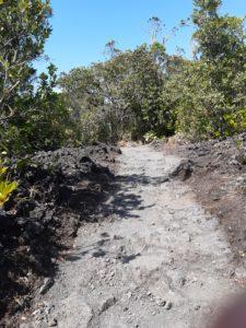 ランギトトのハイキングコース