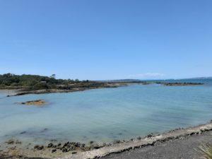 ランギトト島のビーチ